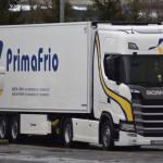 Primafrio llega a transportar más de un millón de kg de fruta de Huelva