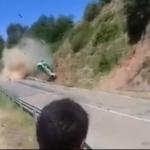 Brutal accidente en el Rally de Osona con varias vueltas de campana – Vídeo
