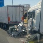 Detenido por alcoholemia el conductor del camión del accidente mortal en la A-4