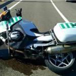 Muere un Guardia Civil al colisionar su moto con un coche en Huesca