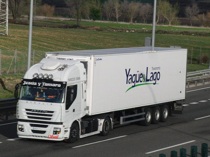 Transportes yague lago conductores ruta nacional una for Empresas de transporte en tenerife