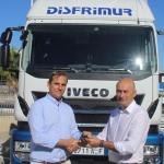 Disfrimur recibe de Ginés Huertas Industriales su camión número 2.000