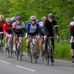 Los ciclistas no pueden ir en columna de dos salvo de forma excepcional