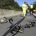 Fallece un ciclista y otro resulta herido al atropellarles un turismo en Teruel