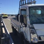 Muere un Guardia Civil de tráfico tras ser arrollado por un camión en la A-1