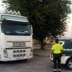 Multa de 1.000€ y la pérdida de seis puntos a un camionero marroquí drogado en RM-714  Jumilla