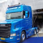 Mira aquí la presentación  del nuevo e impresionante Scania  S730T con morro – Vídeo