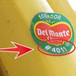 Si ves un '8' en la etiqueta adhesiva de una fruta, ¡No La Compres! La razón la explicamos abajo…