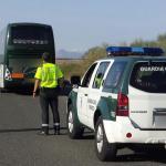 Inmovilizado un autobús con 60 pasajeros cuyo conductor dio positivo por drogas