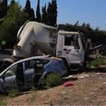 Detienen al camionero del accidente de Alcudia por homicidio imprudente