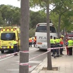 Cinco muertos en un accidente entre un coche y un autocar en Salou