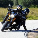"Circula a 150 km/h porque quería ""secar la moto"""