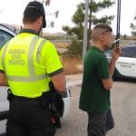 Detenido un camionero en Lorca por conducir bajo los efectos del cannabis