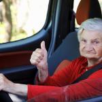 Una abuela de 79 años cazada a 240 km/h en un Porsche