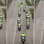 Las imágenes de la ovación a la Guardia Civil a su llegada a Cataluña