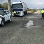La Guardia Civil intercepta en Córdoba al conductor de un camión que dio positivo en drogas