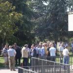Multitudinaria despedida al camionero fallecido en Ontón