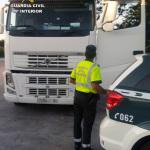 Inmovilizados tres camiones de gran tonelaje al dar sus conductores positivo en drogas