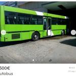 Si tienes 4500€ mañana mismo puedes tener un autobús en tu casa