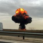 Muere el piloto de un caza F-18 al estrellarse en Torrejón de Ardoz