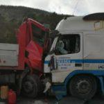 Fallece el camionero herido tras el choque entre dos camiones en Soraluze