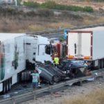 El camionero que provocó el accidente dio positivo en cocaína