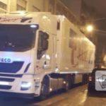 Borracho, con un camión de cinco ejes y en dirección contraria por Gijón