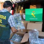 Interceptan un camión con 180 kilos de marihuana en Lorca
