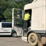 Tráfico detecta manipulación en el tacógrafo de un camión procedente de Ourense