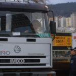 Ofensiva de la Policía Local contra los camioneros: 28 sanciones en tres horas