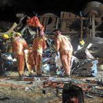 Muere un camionero atrapado tras caer por un barranco de 10 m en Aracena