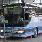Alsa necesita 43 conductores de autobús salario según convenio