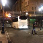 Autobús atrapado en Alfonso XIII – Vigo