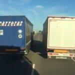 El Grupo Carreras despide al camionero suicida de la NII