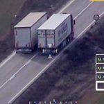 Un camionero español, el primer denunciado por un dron en Francia – Vídeo