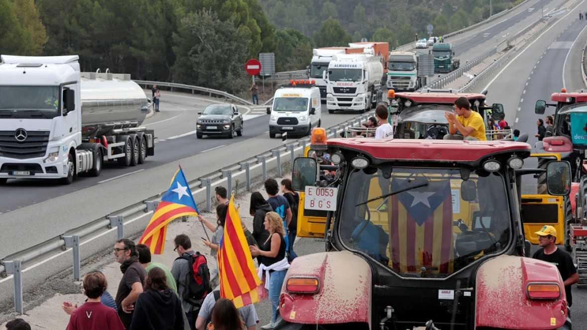 Resultado de imagen de huelga cataluña forotransporteprofesional