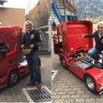 Te atreves a comprar este  Scania R500 a escala con semirremolque por 69.000 euros?