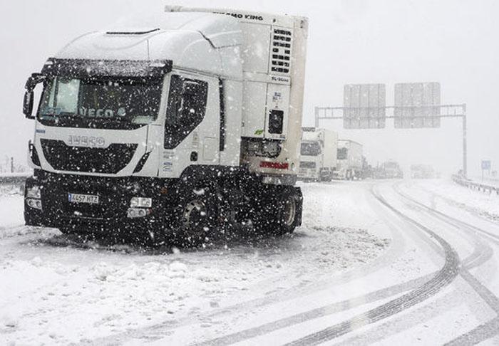 Avisos por nevadas en 18 provincias españolas