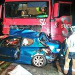 Quinto fallecido del año en la N-II en otro choque con un camión a la altura de Pina