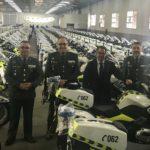Tráfico compra 300 motos nuevas para la Guardia Civil
