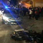 Un conductor ebrio atropella por casualidad a su hijo que iba en moto en Sollana