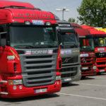 Clausurada un empresa y confiscados 142 camiones rumanos
