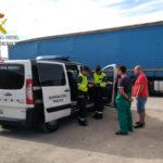 La Guardia Civil intensifica la vigilancia a camioneros