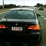 Detenido un conductor por adelantar y entorpecer después circulando a 20 km/h