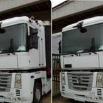 Ayuda, es de una pequeña empresa: Camión robado en Vicálvaro matrícula 0786-JTW