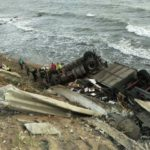 Muere un camionero en la misma curva donde se estrelló otro en enero, en la A-7, en Mijas