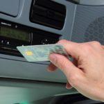 La conducción sin tarjeta de conductor en determinadas ocasiones