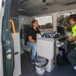 Interceptan a un camionero portugués consumiendo cocaína al volante en Vilalba (Lugo)