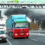 Multas de entre 150 y 150.000 euros para los camiones extranjeros que no paguen en la N-1