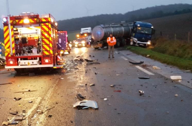 Detenida una camionera tras positivo en drogas después de causar un accidente mortal en Francia